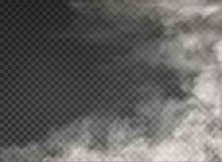 fog and smoke isolated on transparent background Banco de Imagens - 132440103