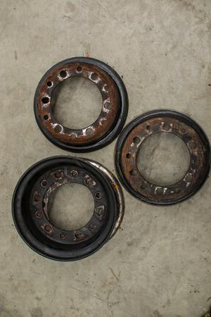 Wheel hub the forklift