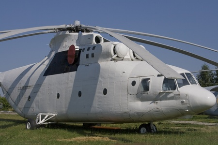 Old soviet helicopter MI-26 Stock Photo - 10796906