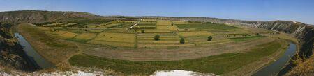 Valley panorama. Orhei Vechi, Moldova. Stock Photo - 10802621