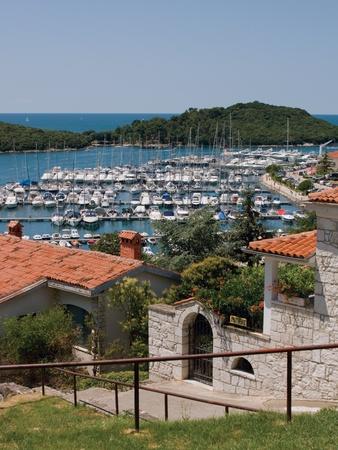 Port in Istrian town Vrsar, Croatia. photo