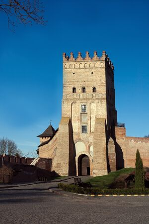Central tower of the Lubert castle in Lutsk, Ukraine. Stock Photo - 11000645
