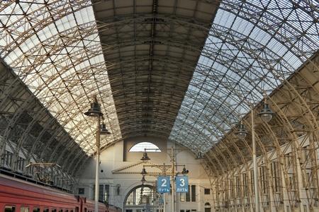 Kiev (Kievskaya) railway station in Moscow, Russia