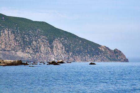 ayu: Ayu Dag (Bear) mountain. Crimea, Ukraine. Stock Photo