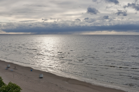 jurmala: Jurmala coast, Riga gulf, Latvia.