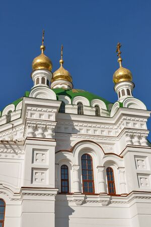 Top of the Refectory Church of the Kiev Pechersk Lavra in Kiev, Ukraine. photo