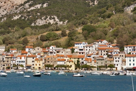 krk: Baska town on island Krk, Croatia.