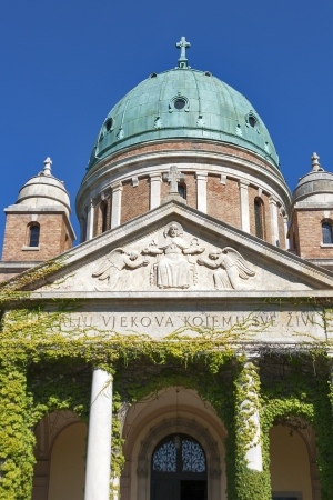 Famous cemetery Mirogoj in Zagreb, Croatia Stock Photo - 17270659