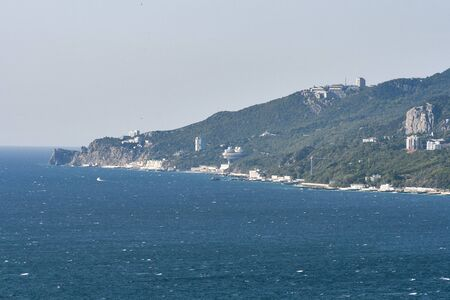 Big Yalta area in Crimea, Ukraine. photo