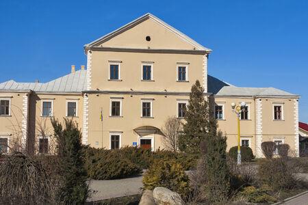 castle district: Ternopil castle, Western Ukraine Editorial