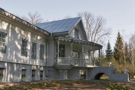 prominent: Family House Estate of Nikolay Pirogov (rear facade), a prominent Russian and Ukrainian surgeon. It was built 1866 in Vinnitsa, Ukraine.