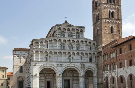 martino: Cathedral of San Martino in Lucca, Tuscany, Italy
