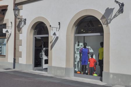 Facade Of Adidas Store In McArthurGlen