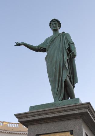 duke: Statue of Armand Emmanuel Sophie Septimanie de Vignerot du Plessis, Duke de Richelieu in Odessa, Ukraine