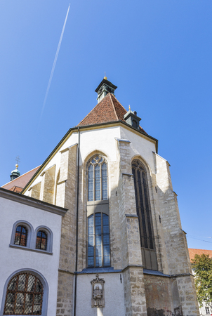 giles: St. Giles Cathedral or Cathedral of St. Agidius in Graz, Austria Stock Photo