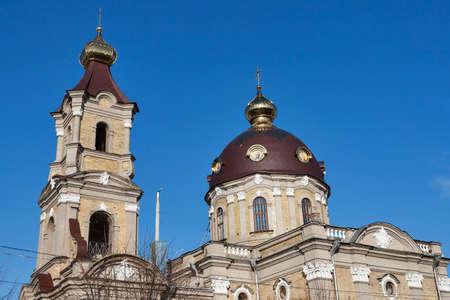 sobor: St. Nicholas Cathedral ( Nikolsky sobor ) in Berdychiv, Zhytomyr Region, Ukraine