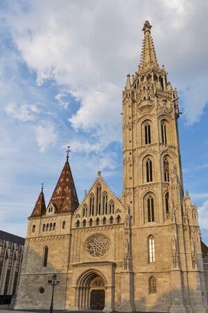 buda: Matthias church in Buda Castle district, Budapest, Hungary