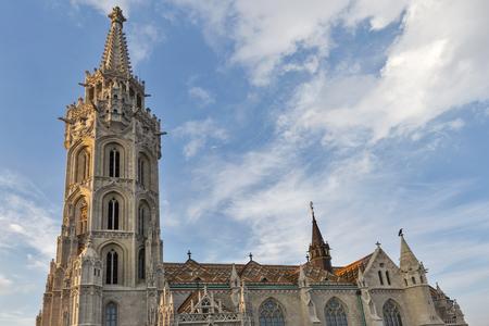 matthias church: Matthias church in Buda Castle district, Budapest, Hungary