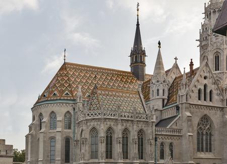 matthias: Matthias church in Buda Castle district, Budapest, Hungary