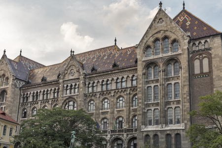 obuda: National Archives of Hungary building, Budapest Editorial