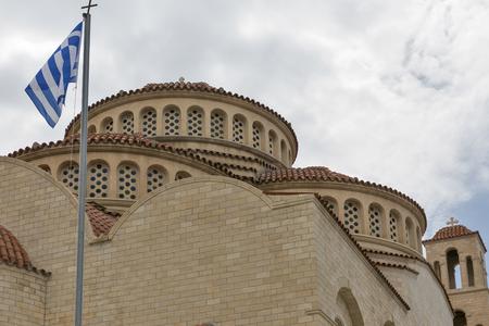 Agioi Anargyroi Orthodox Cathedral in Paphos, Cyprus Stock Photo