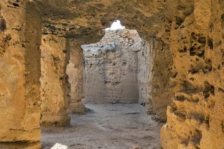 tumbas: Tumbas de los Reyes museo arqueológico de Pafos, en Chipre