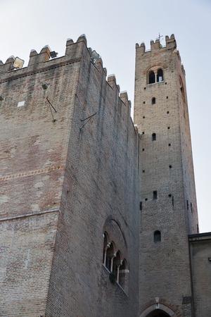 cavour: Rimini City Hall on Cavour Square, Italy