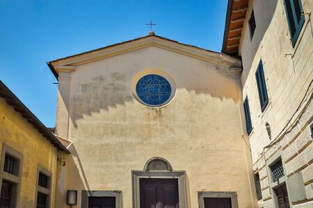 Church and Conservatorio Santa Marta in Montopoli in Val dArno. It is a municipality in the Province of Pisa in the Italian region Tuscany. Imagens