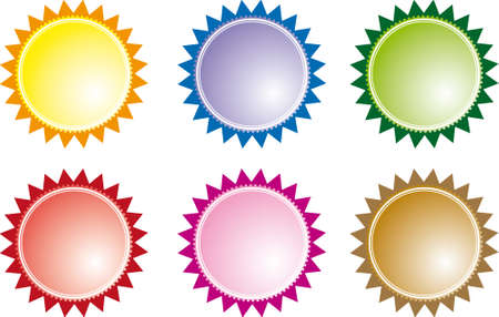 Set of vector sale stickers and labels Stock Vector - 8977360