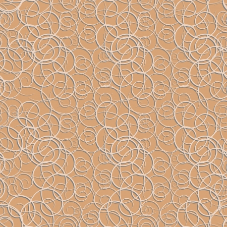 seamless background with embossed spiral Vector