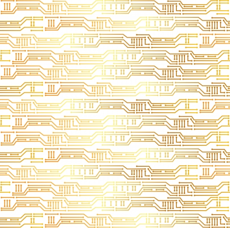pcb: seamless texture with PCB Illustration