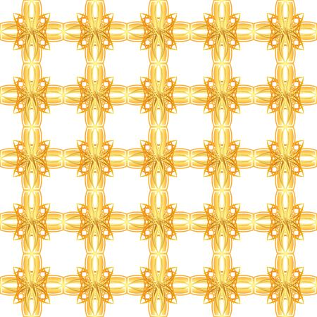 seamless texture with gold bars Vector