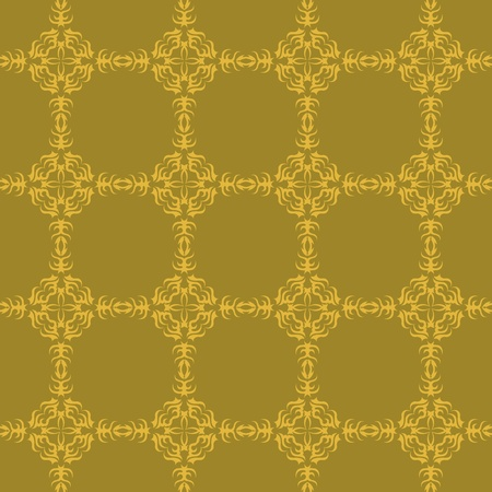 Seamless floral background with pattern Vector