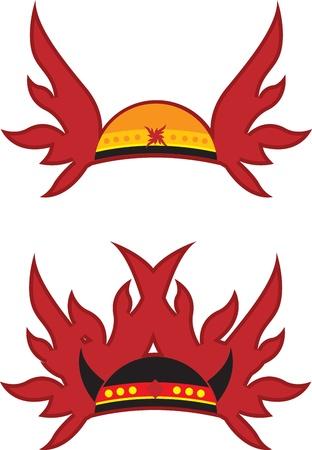 casco rojo: Resumen casco rojo con alas