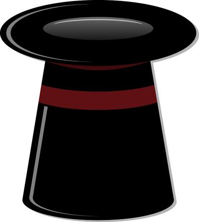 cilindro: cilindro de la magia negro.