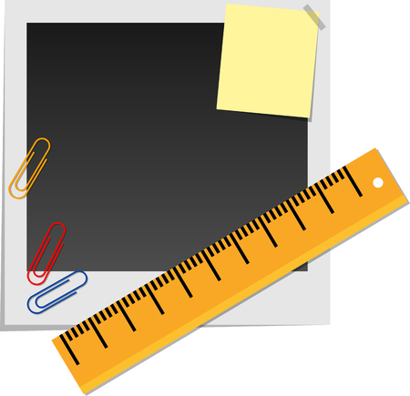 paper clip: Set of snapshot and stationery.