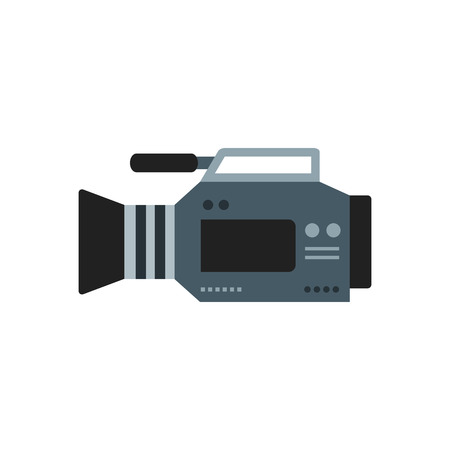 Graphic icon of  flat camera