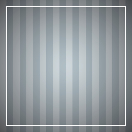 Abstract striped background with square frame. Striped background.