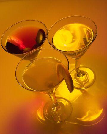 Martini shots Archivio Fotografico