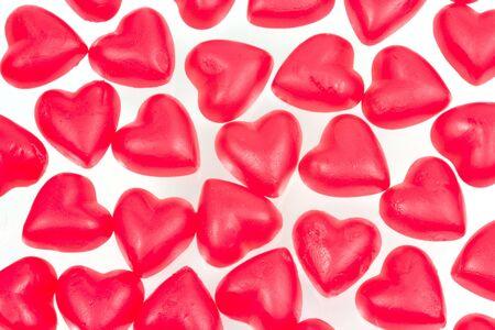 Sweet hearts isolated Stock Photo