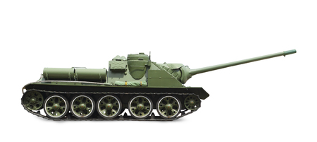 image of a tank made by the Soviet Union, white background image alone  Profile picture  photo
