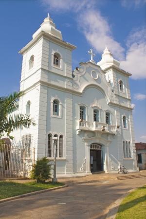 central square: Brasiliano edificio storico, chiesa cattolica della piazza centrale della citt� di Montes Claros, Minas Gerais, Brasile