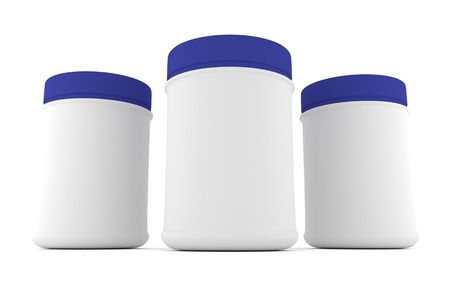 parenteral: Realistic packaging rounded for sports nutrition and supplementary feeding