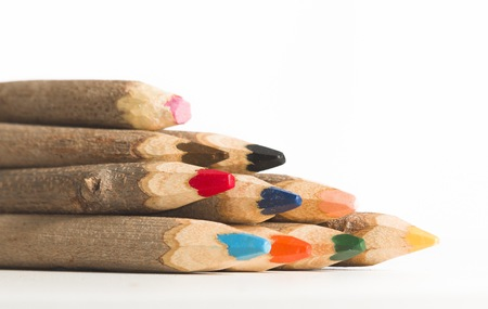 set a giant handmade color pencil, assorted colors