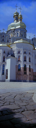 parlance: Cathedral of the Assumption of the Blessed Virgin Mary (in common parlance the Great Church) - the main cathedral church of the Kiev-Pechersk Lavra, bogosozdanny the prototype of all the monastic churches of ancient Russia, the tomb of the Kievan prin