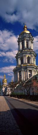 Great Lavra Bell Tower (Ukrainian Velika Lavrska dzv%u0456nitsya) - altitude dominant Kiev-Pechersk Lavra, over one and a half centuries remained the tallest building in Ukraine.