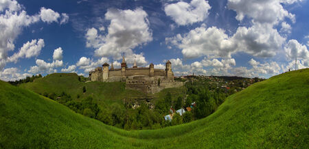 construction in Kamyantse_Podolskom-most famous and respected historians and tourists. Day and night it adorns the hill, on which there is, against the beautiful backdrop of the city