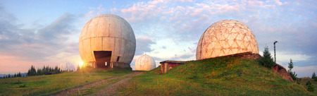 Pamir - super secret Army station early warning aircraft missiles NATO. In the Carpathians, on the border with Romania, abandoned with the collapse of the USSR, the Soviet Union, Ukraine
