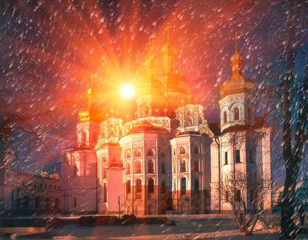 Cathedral of the Assumption of the Blessed Virgin Mary (in common parlance the Great Church) - the main cathedral church of the Kiev-Pechersk Lavra, bogosozdanny the prototype of all the monastic churches of ancient Russia, the tomb of the Kievan prin
