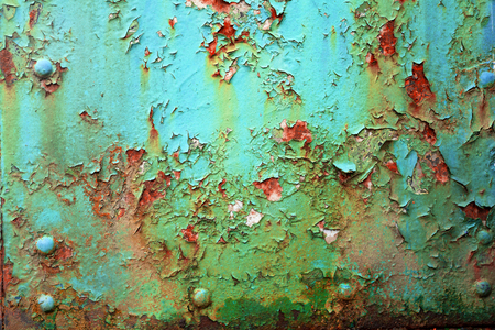 Old trains, the texture of paint - in the village of the museum in the Carpathians, the original retro rarities of the product of the communist socialist state of workers and peasants in  Europe